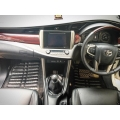 Toyota Innova Crysta Premium 5D Car Floor Mats (Set of 4, Black & Beige)