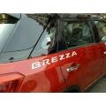 Car Logo 3D Letter Stickers Emblem For Maruti Vitara Brezza