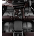 Mahindra Marazzo Premium 5D Car Floor Mats (Set of 4, Black)