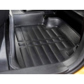 Hyundai Venue Premium 5D Car Floor Mats (Set of 3, Black)