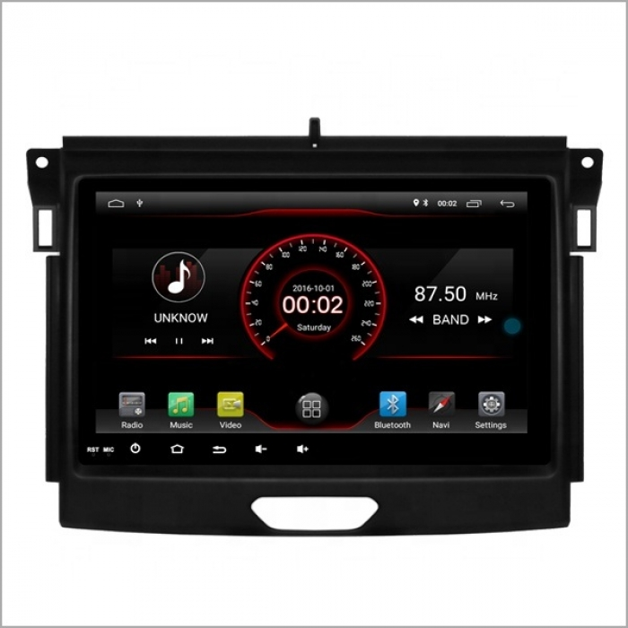 Ford New Endeavour 9 Inches HD Touch Screen Smart Android Stereo (2GB, 16GB) with Stereo Frame By Carhatke