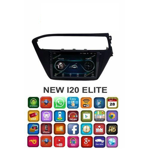 Hyundai New i20 Elite 2018 8 Inches HD Touch Screen Android Stereo (2GB, 16GB) with Stereo Frame By Carhatke