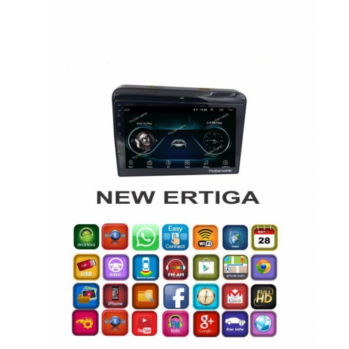 Maruti New Ertiga 2018-2019 9 Inches Android HD Touch Screen Stereo with GPS TV Movie Android System Carhatke