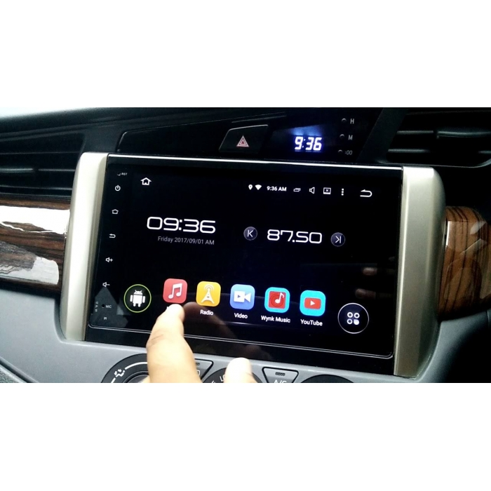 Toyota New Innova Crysta Facelift 2021 Model 9 Inches HD Touch Screen Smart Android Stereo (2GB, 16GB) with Stereo Frame By Carhatke