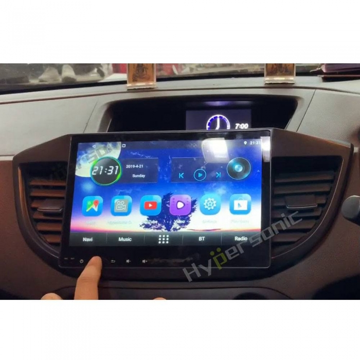 Honda CRV HD Touch Smart Screen Android Stereo (2GB, 16GB) with Stereo Frame By Carhatke