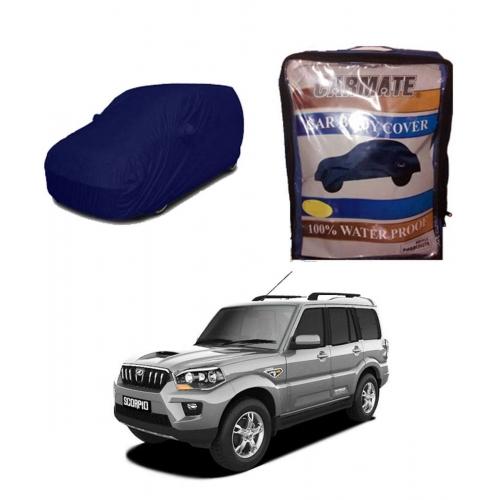 Carmate Parachute Fabric Car Body Cover for Mahindra Scorpio all Model