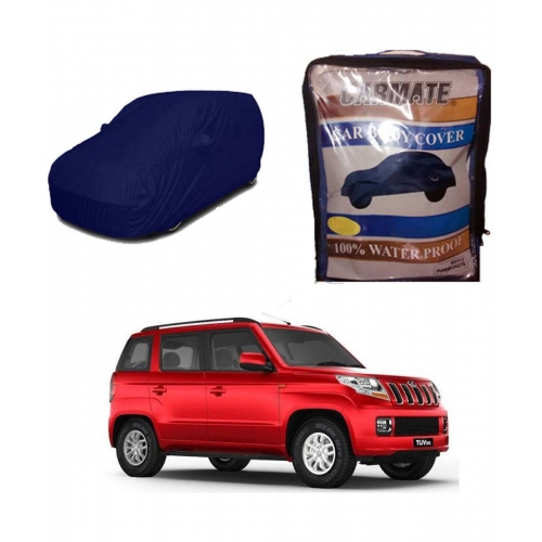 Carmate Parachute Fabric Car Body Cover for Mahindra TUV 300 all Model