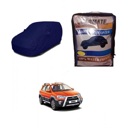 Carmate Parachute Fabric Car Body Cover for Toyota Etios Cross all Model