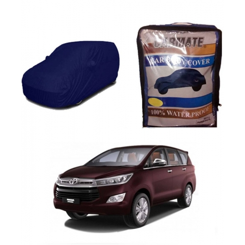 Carmate Parachute Fabric Car Body Cover for Toyota Innova Crysta all Model