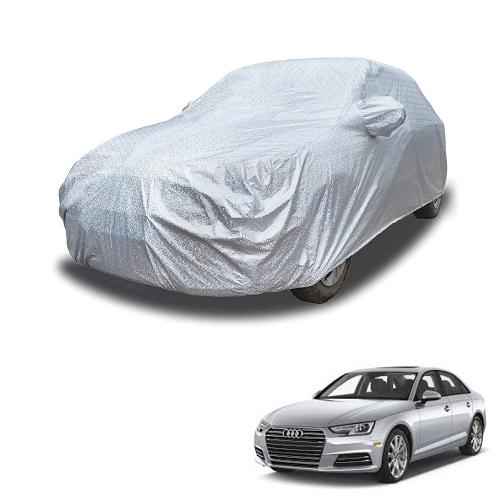 Carhatke Spyro Silver 100% Waterproof Car Body Cover with Mirror Pocket for Audi A4