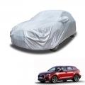 Carhatke Spyro Silver 100% Waterproof Car Body Cover with Mirror Pocket for Audi Q3