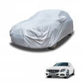 Carhatke Spyro Silver 100% Waterproof Car Body Cover with Mirror Pocket for Mercedes-Benz C-Class