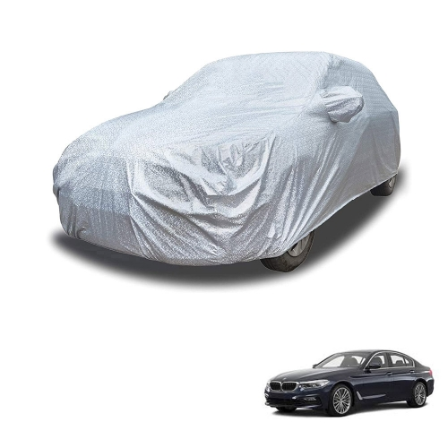 Carhatke Spyro Silver 100% Waterproof Car Body Cover with Mirror Pocket for BMW 5 Series