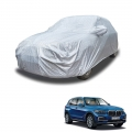 Carhatke Spyro Silver 100% Waterproof Car Body Cover with Mirror Pocket for BMW X5
