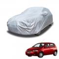 Carhatke Spyro Silver 100% Waterproof Car Body Cover with Mirror Pocket for Chevrolet Aveo UVA