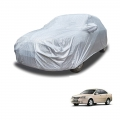 Carhatke Spyro Silver 100% Waterproof Car Body Cover with Mirror Pocket for Chevrolet Optra