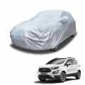 Carhatke Spyro Silver 100% Waterproof Car Body Cover with Mirror Pocket for Ford Ecosport