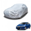 Carhatke Spyro Silver 100% Waterproof Car Body Cover with Mirror Pocket for Honda City 2014-2017