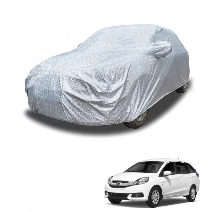 Carhatke Spyro Silver 100% Waterproof Car Body Cover with Mirror Pocket for Honda Mobilio