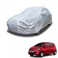 Carhatke Spyro Silver 100% Waterproof Car Body Cover with Mirror Pocket for Hyundai Eon