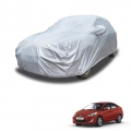 Carhatke Spyro Silver 100% Waterproof Car Body Cover with Mirror Pocket for Hyundai Old Verna