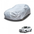 Carhatke Spyro Silver 100% Waterproof Car Body Cover with Mirror Pocket for Mahindra Logan