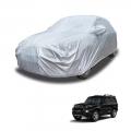 Carhatke Spyro Silver 100% Waterproof Car Body Cover with Mirror Pocket for Mahindra New Scorpio