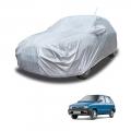 Carhatke Spyro Silver 100% Waterproof Car Body Cover with Mirror Pocket for Maruti 800