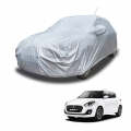 Carhatke Spyro Silver 100% Waterproof Car Body Cover with Mirror and Antenna Pocket for Maruti New Swift
