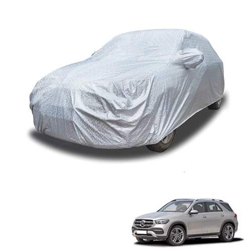 Carhatke Spyro Silver 100% Waterproof Car Body Cover with Mirror Pocket for Mercedes GLA