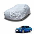 Carhatke Spyro Silver 100% Waterproof Car Body Cover with Mirror Pocket for Renault Scala