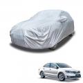 Carhatke Spyro Silver 100% Waterproof Car Body Cover with Mirror Pocket for Skoda Rapid