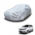 Carhatke Spyro Silver 100% Waterproof Car Body Cover with Mirror Pocket for Tata Bolt