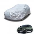 Carhatke Spyro Silver 100% Waterproof Car Body Cover with Mirror Pocket for Tata Nexon