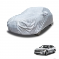 Carhatke Spyro Silver 100% Waterproof Car Body Cover with Mirror Pocket for Volkswagen Passat