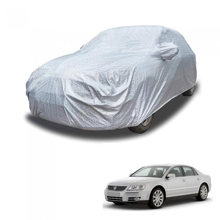 Carhatke Spyro Silver 100% Waterproof Car Body Cover with Mirror Pocket for Volkswagen Phaeton