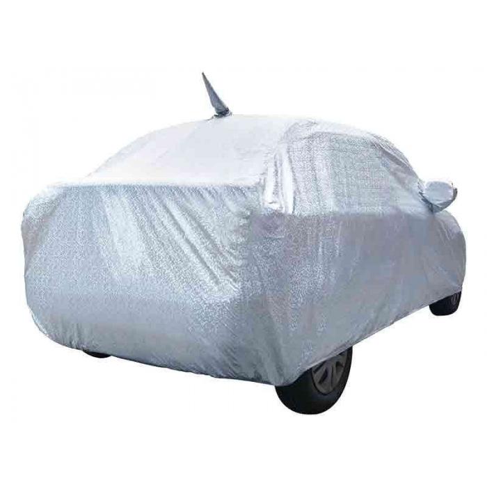 Carhatke Spyro Silver 100% Waterproof Car Body Cover with Mirror Pocket for Maruti Suzuki Alto