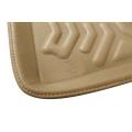 Premuim Quality Car 3D Floor Mats For BMW 3 Series (Black & Beige)