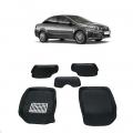 Leathride Texured 3D Car Floor Mats For Fiat Linea