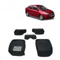 Leathride Texured 3D Car Floor Mats For Ford Figo Aspire
