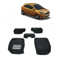 Leathride Texured 3D Car Floor Mats For Ford New Figo