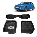 Leathride Texured 3D Car Floor Mats For Hyundai Elite i20 2018