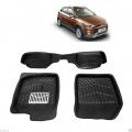 Leathride Texured 3D Car Floor Mats For Hyundai I20 Active