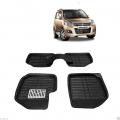 Leathride Texured 3D Car Floor Mats For Maruti New Wagon R 2010