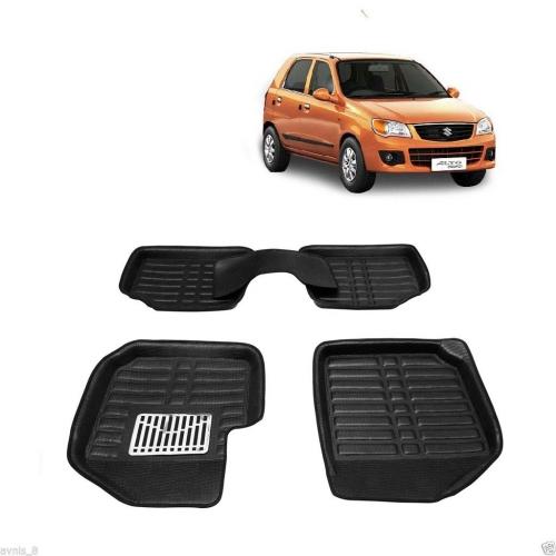 Leathride Texured 3D Car Floor Mats For Maruti Suzuki Alto K10