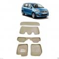 Leathride Texured 3D Car Floor Mats For Maruti Suzuki Ertiga With Boot Mat