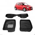 Leathride Texured 3D Car Floor Mats For Maruti Suzuki Swift
