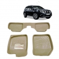 Leathride Texured 3D Car Floor Mats For Nissan Terrano