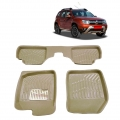 Leathride Texured 3D Car Floor Mats For Renault Duster