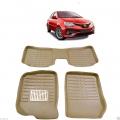 Leathride Texured 3D Car Floor Mats For Toyota Etios